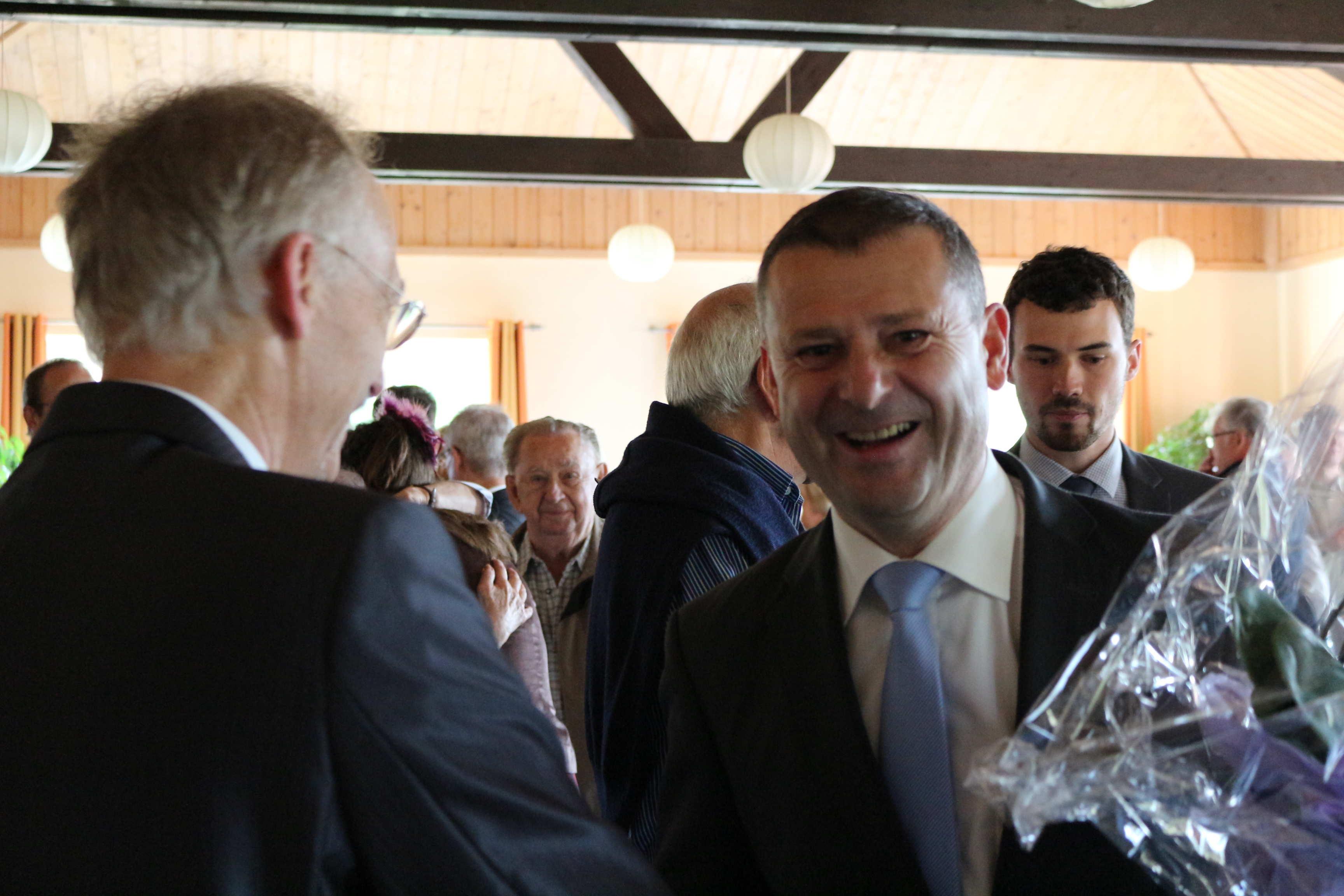 Gratulation Bürgermeister
